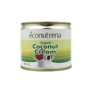 Сливки кокосовые органические 22%, 200 мл (Econutrena)